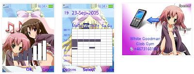 「學生會的一存」SonyEricsson手機主題for Elm/Hazel/Yari/W20﹝240x320﹞