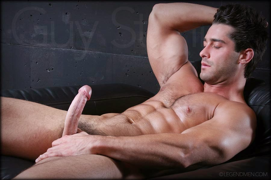 Sexy Guy Whacking Off