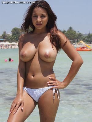 Lacey - White Bikini_1