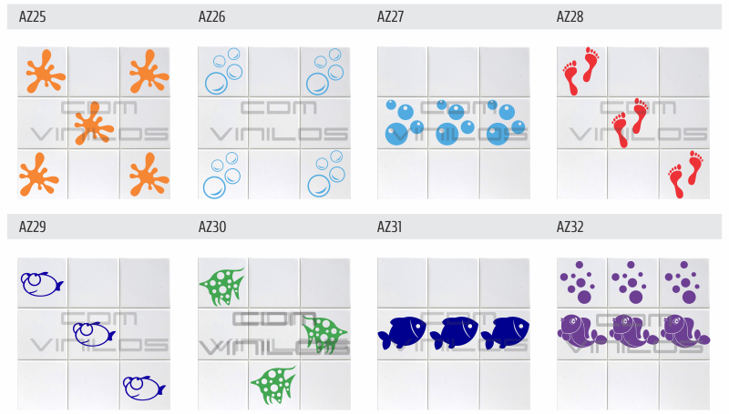 Azulejos Baño Vinilo:Vinilo para azulejos, vinilo decorativo para cocina, baño, calcos