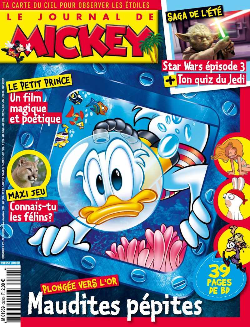 le journal de mickey journal de mickey 3293. Black Bedroom Furniture Sets. Home Design Ideas