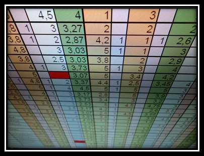 Notas Finales de Matemáticas P1 G9 2013