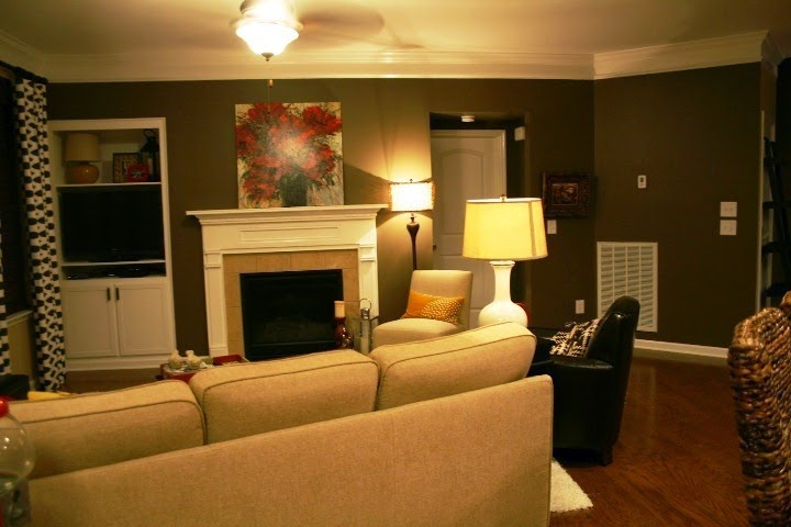 interior wall painting designs accent wall. Black Bedroom Furniture Sets. Home Design Ideas