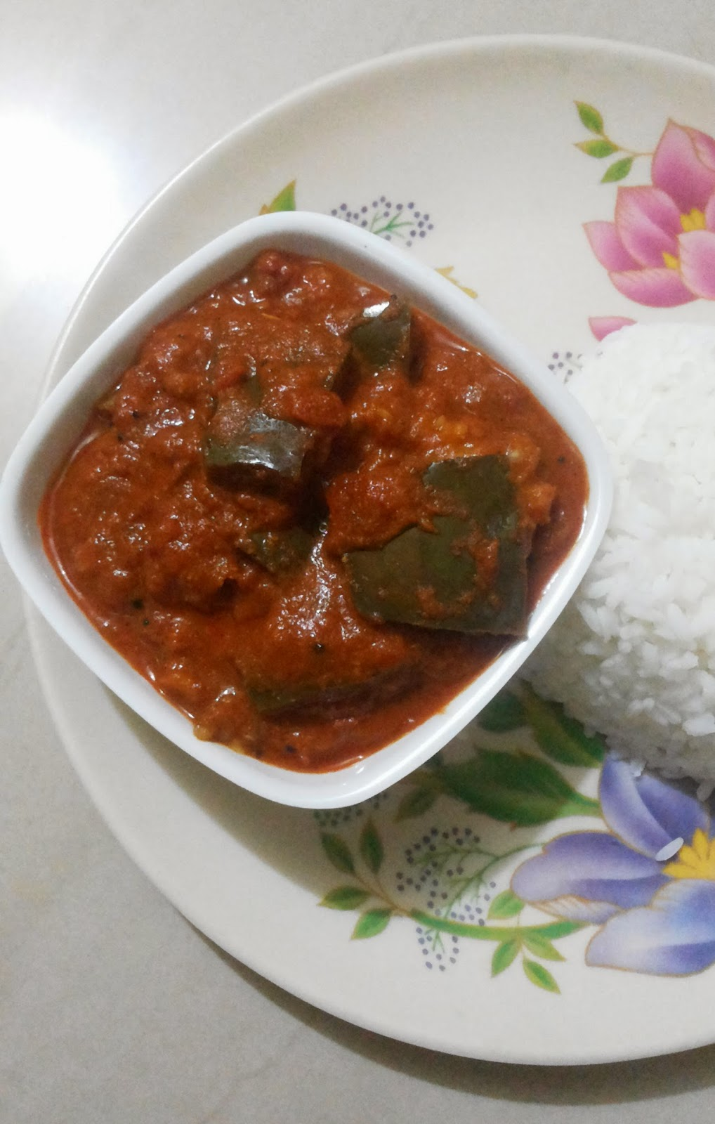 spicy brinjal curry mangalorean recipes cookery atlas