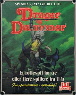 Drager og Dæmoner figurer