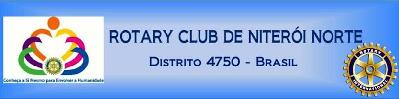 ROTARY CLUB DE NITERÓI NORTE  Distrito 4750  -  Brasil