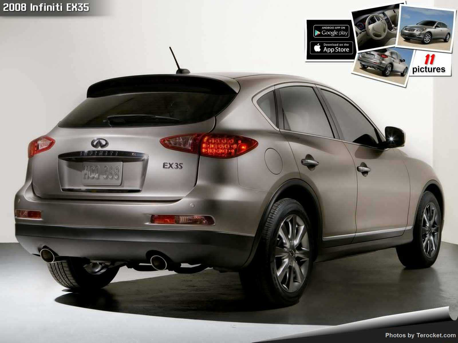 Hình ảnh xe ô tô Infiniti EX35 2008 & nội ngoại thất