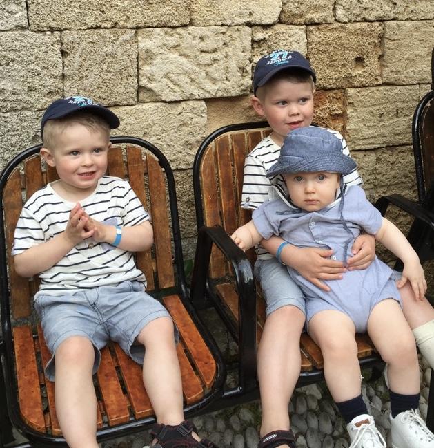 Våra tre små Prinsar