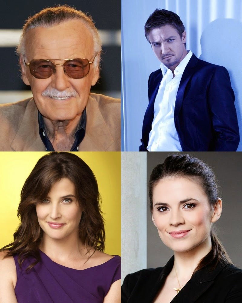 Comicpalooza 2015 Marvel Cinematic Universe Guest List – Stan Lee, Jeremy Renner, Cobie Smulders & Hayley Atwell