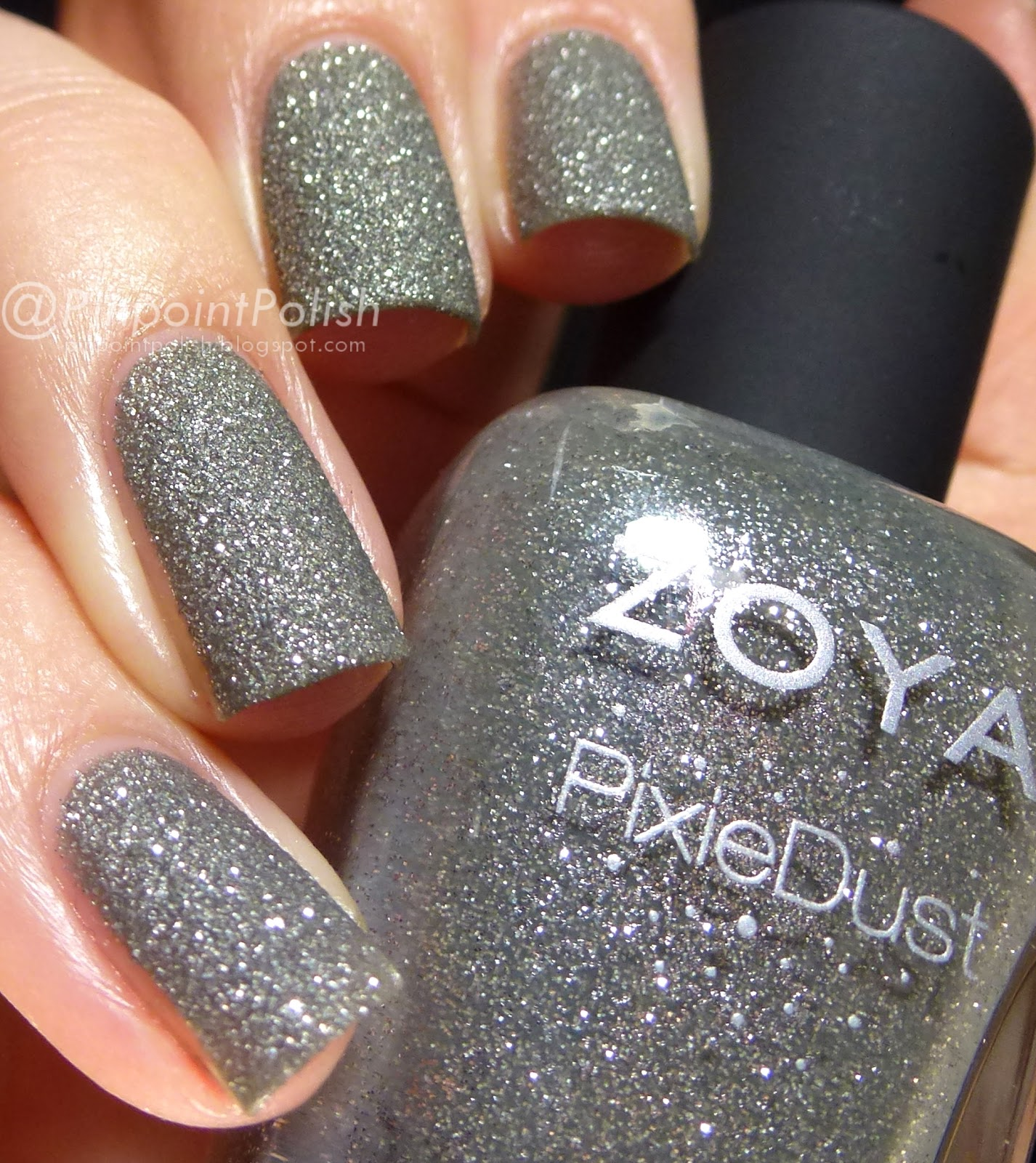 London, Zoya, Pixie Dust, swatch