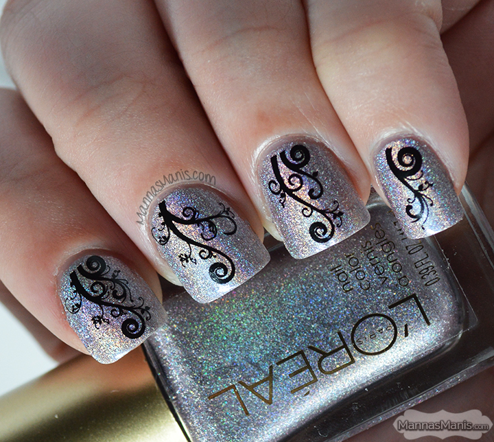 Loreal Masked Affair with water decals