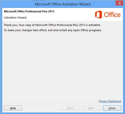 Aktivasi terbaru office 2013 secara benar