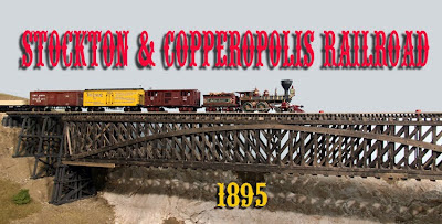Stockton and Copperopolis Railroad