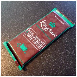 Kingdom Milk Chocolate and Cappuccino Centre