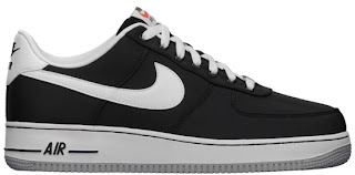 09/14/2013 Nike Air Force 1 Low 488298-037 Black/White-Wolf Grey $90.00