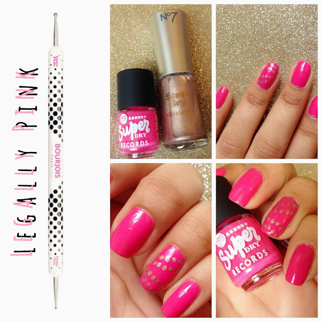 Superdry, Beauty, Nails, Bourjois, Dotting Tool, Nail Art