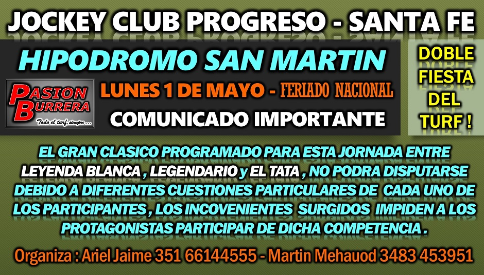 PROGRESO - 1 DE MAYO
