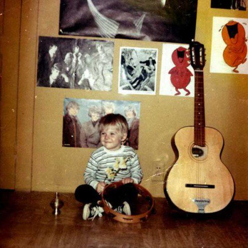 2-year-old Kurt Cobain