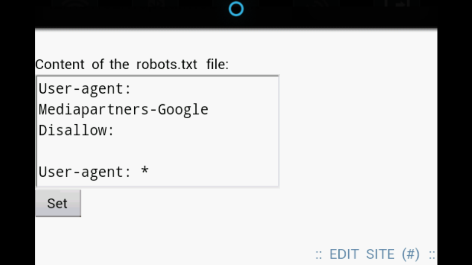 submit robots txt and sitemap in wapka fzblogger tech paranody