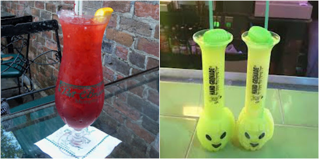hurricane and hand grenade drinks