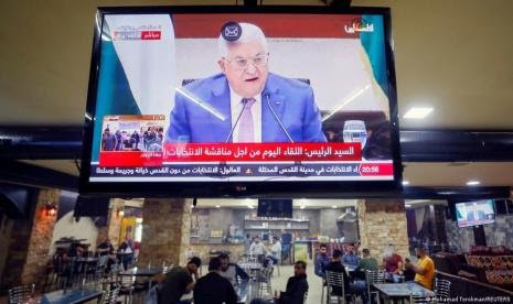 Pemilu Palestina Resmi Ditunda, Mahmoud Abbas Salahkan Israel | LihatSaja.com