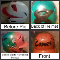 Airbrushed Mascot Baseball Helmet