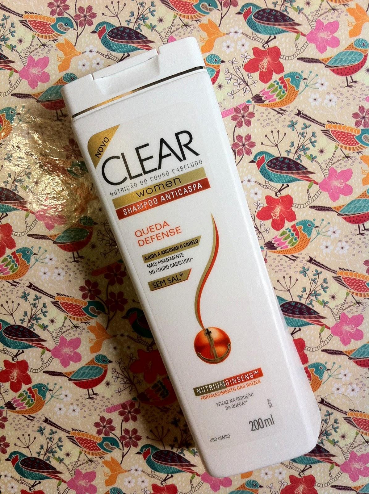 shampoo clear queda defense favoritos do mês de setembro por pabline torrecilla