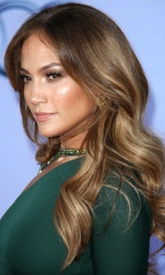 brunettes Jennifer Lopez caramel brown