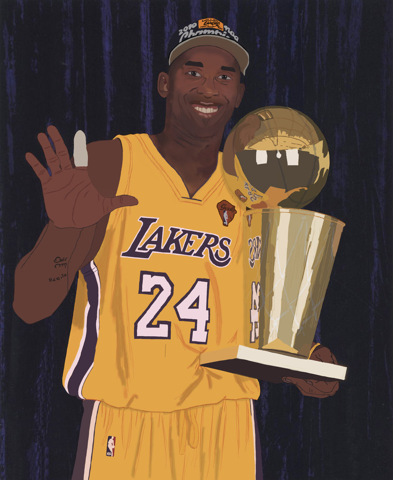Cartoon Pictures of Kobe Bryant