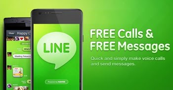 Llamadas y mensajes gratis con Line para Android