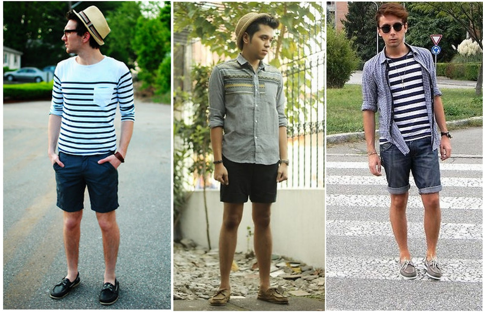 Selection Of Male Shoes Combining Fashion With White Shorts New Fashion Trends Share Fashion