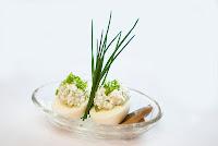 Jaja faszerowane białym serem za szczypiorkiem