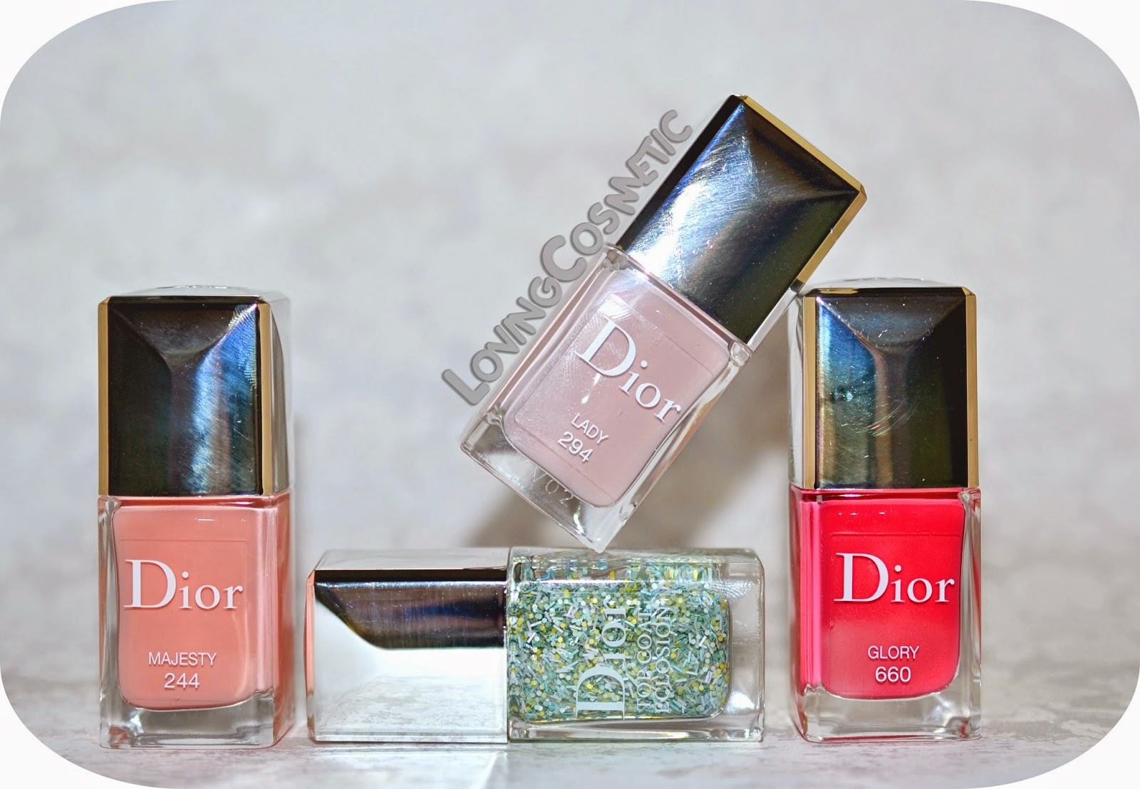 Nail Art Dior - Kingdom of Colors ~ LovingCosmetic