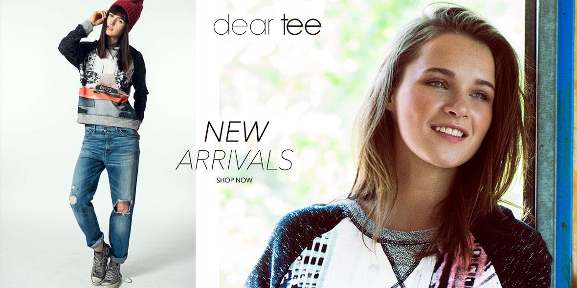 Camisetas y sudaderas con dibujos y mensajes personales Dear Tee