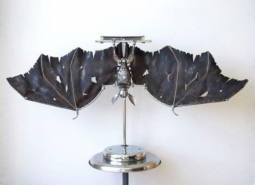 octopus-spider-steampunk-animal-sculptures-igor-verniy-5