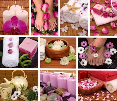 10 fotografías de spa, masajes, relax y aceites aromáticos.