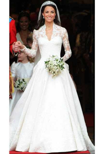 Grace Kelly-inspired Alexander McQueen gown