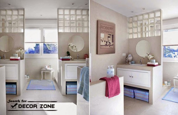 Bathroom Partitions Original Ideas And Choosing Tips - Bathroom partition glass