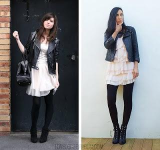 imagens de Vestidos com Jaquetas