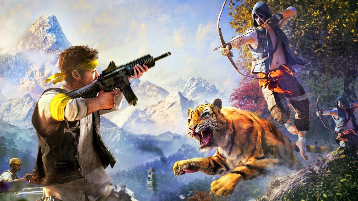 Far Cry 4 2014 Wallpaper