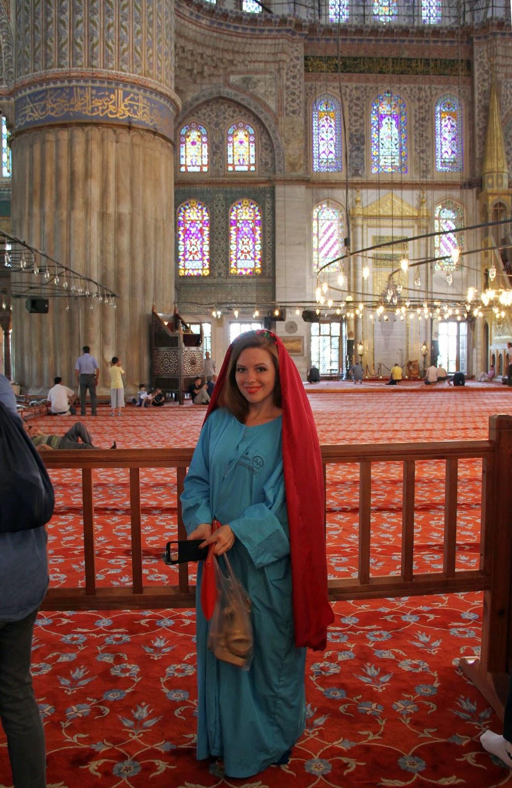 дресс код в мечеть