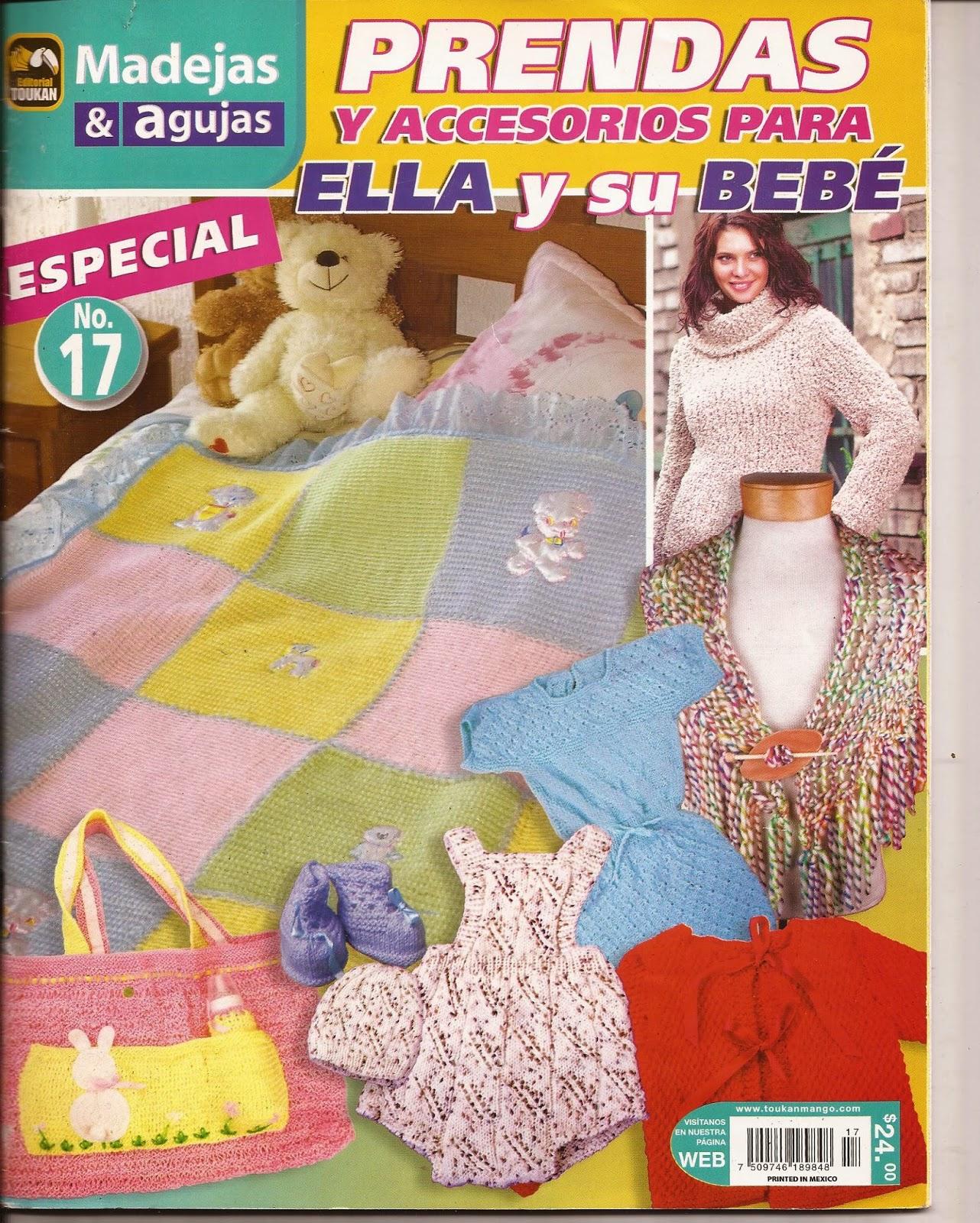 Tejidos para bebe - patrones - Revistas de crochet y tejidos gratis