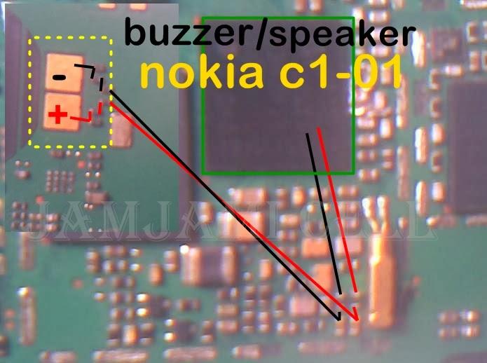 trick jumper speaker nokia c1-01, jamjami cell