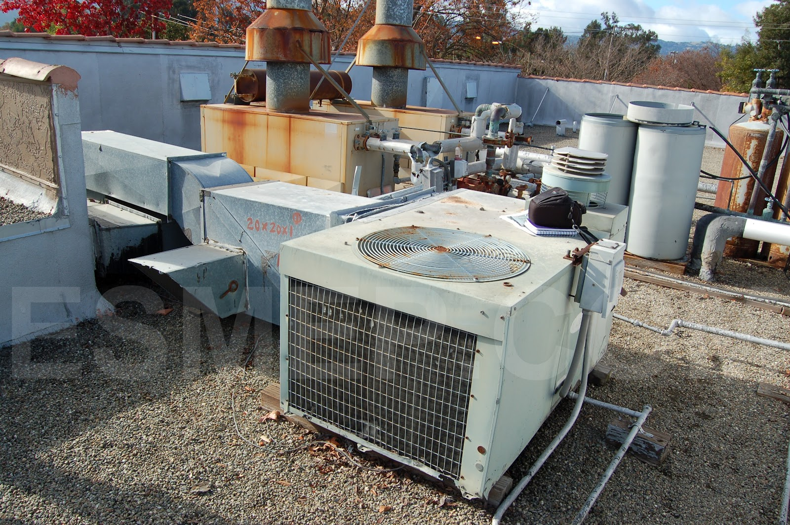 Roof Air Handlers : Hvac heating ventilation air conditioning mechanical