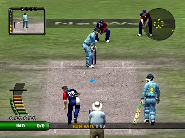 ODI's match screen shot