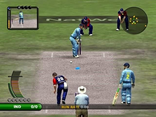 ODI's match screen shot