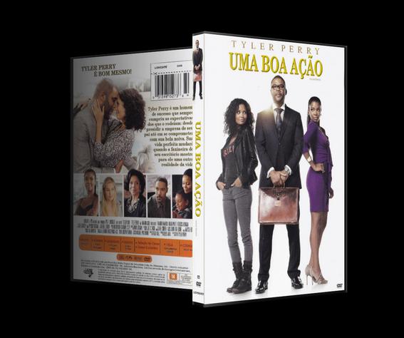Capa DVD Uma Boa Ação