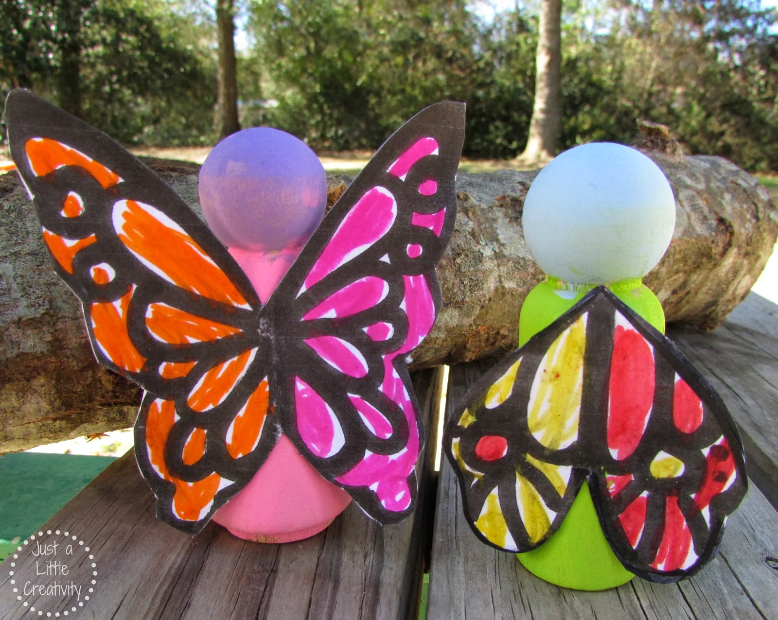 I Hope You And Your Little One Enjoy Many Hours Of Creative Play With Their  Very Own Unique Butterfly Garden ...