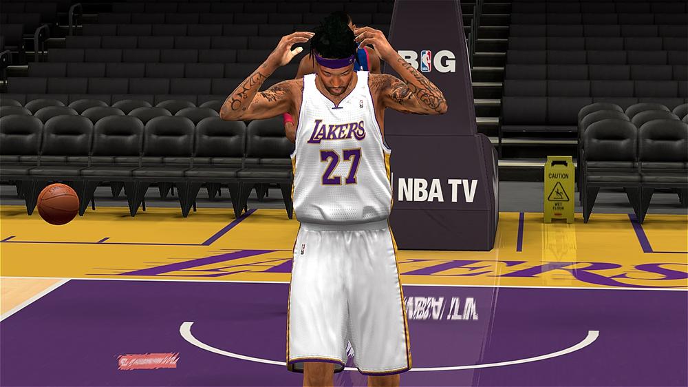 NBA 2K14 Jordan Hill Hair Patch