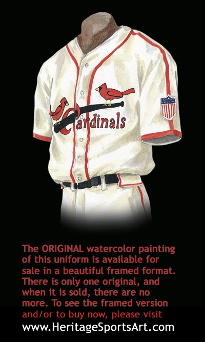 St. Louis Cardinals Uniform and Team History  1985a3d7e